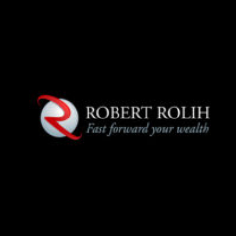 Robert Rolih logo negative