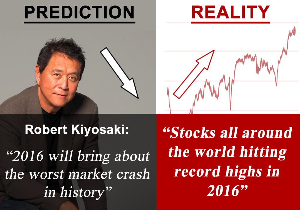 Robert Kiyosaki prediction