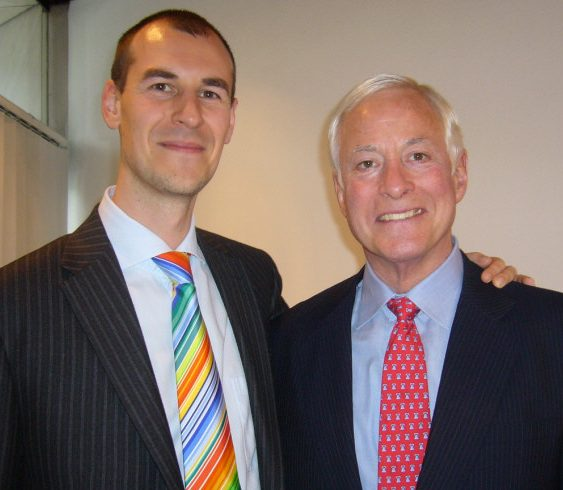 Robert Rolih and Brian Tracy